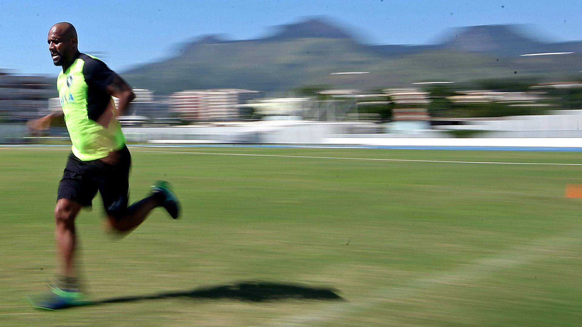 Maicon Botafogo treino 06 04 2017