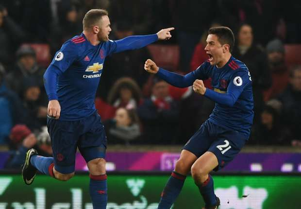 Stoke 1-1 Manchester United: Record-breaking Rooney rescues Mourinho's men