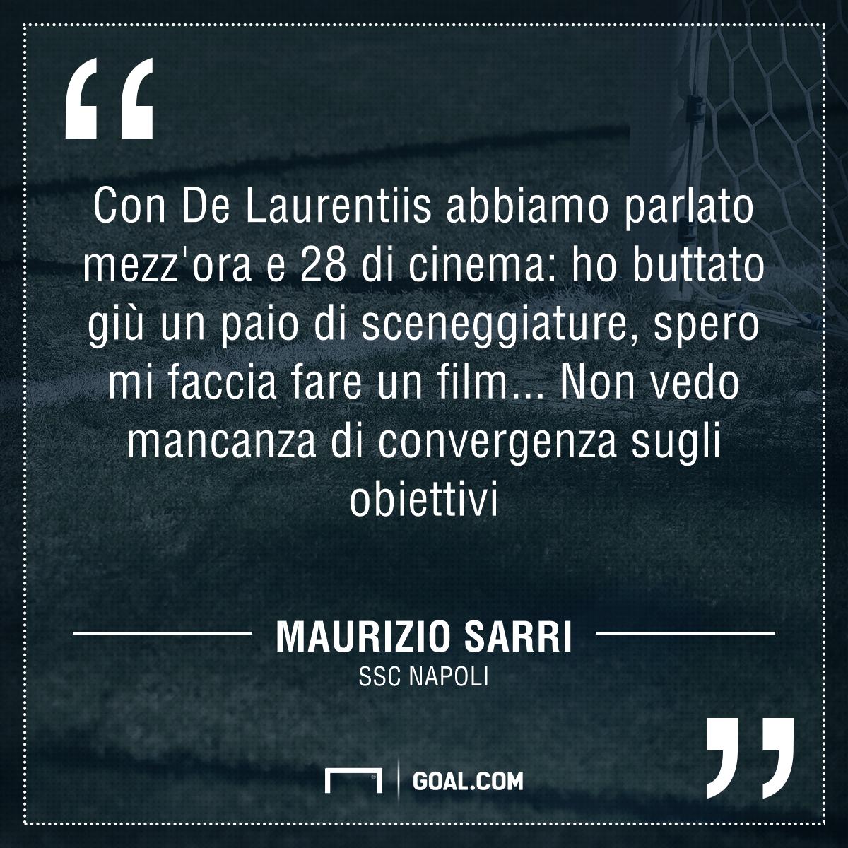 Napoli-Real Madrid 1-3, Sarri: