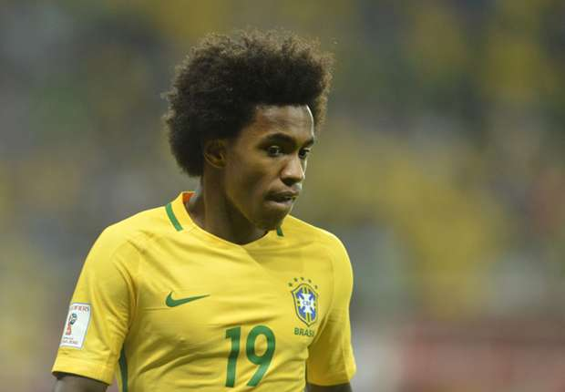 Willian embracing battle with Coutinho for Brazil role