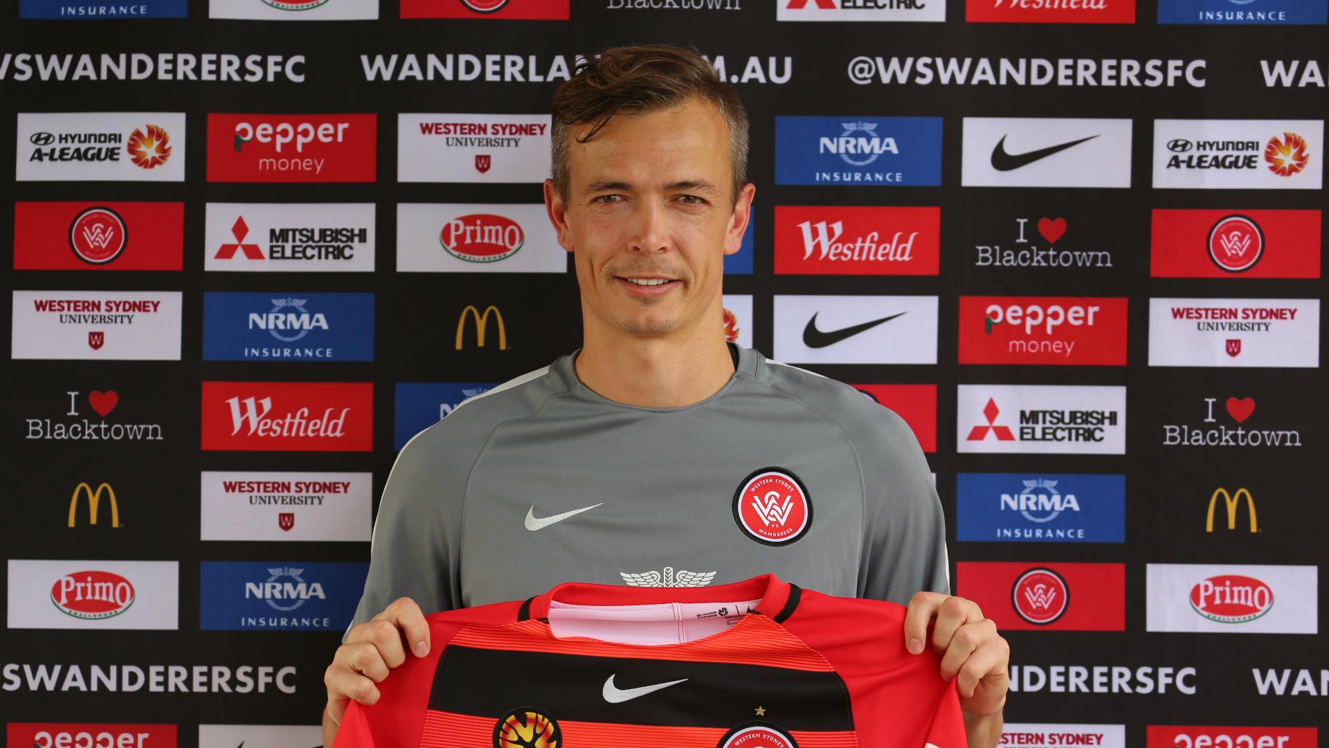 Ryan Griffiths Western Sydney Wanderers A-League