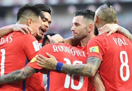 Chili naar halve finale Confederations Cup