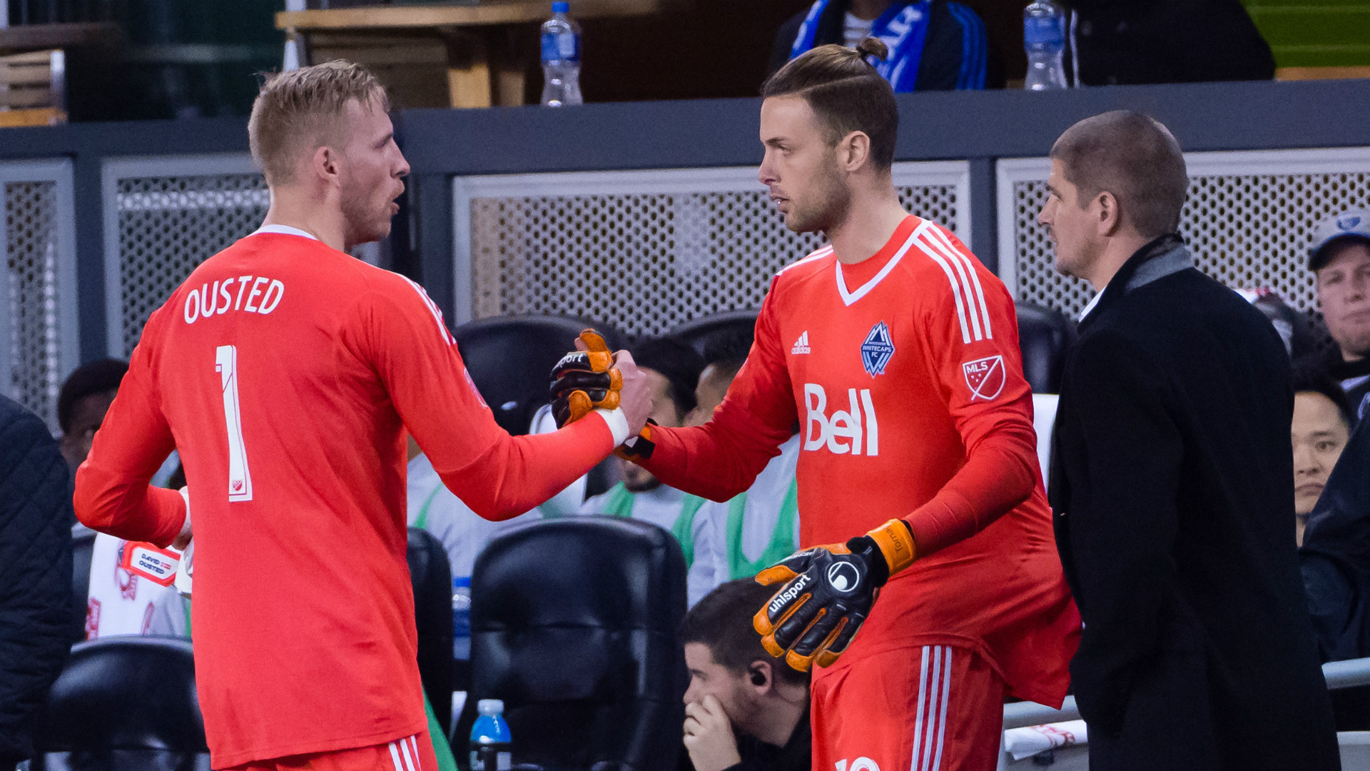 David Ousted Paolo Tornaghi Vancouver Whitecaps