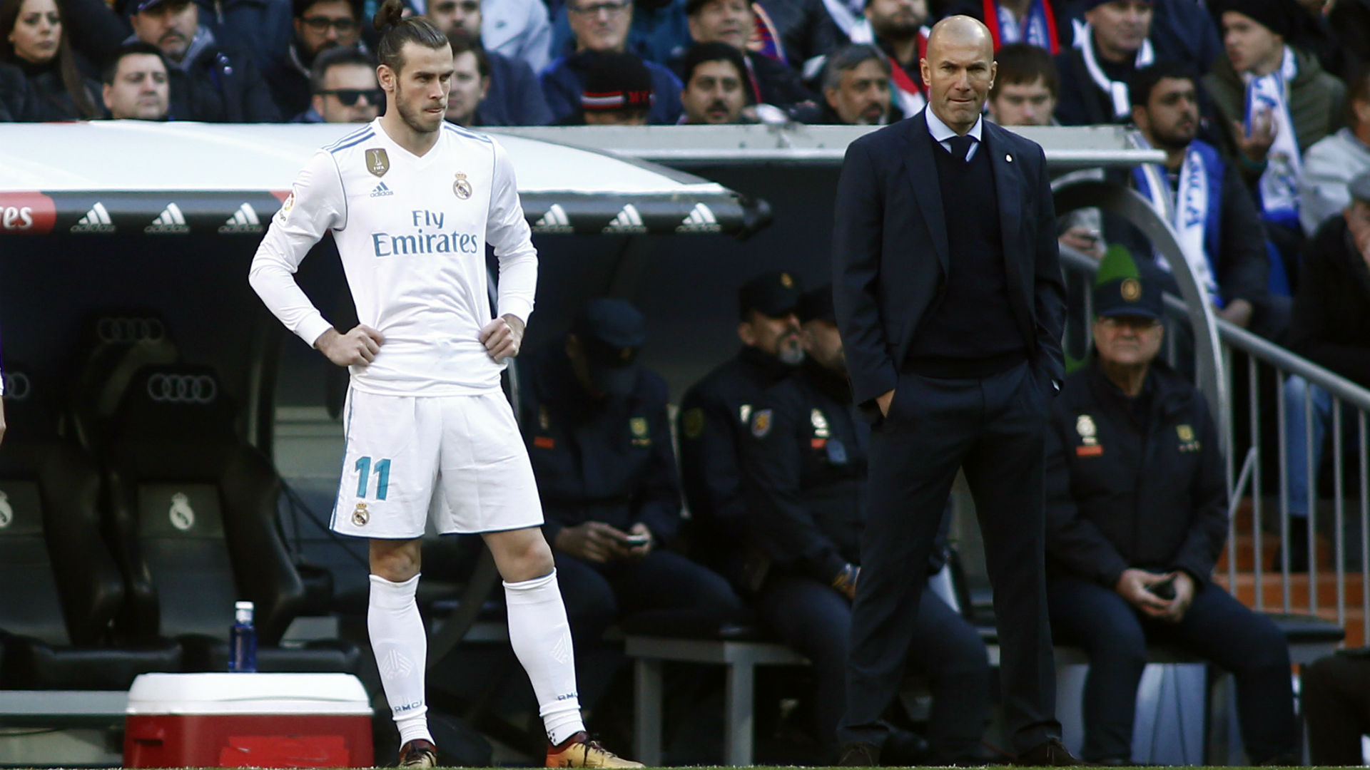 Zidane claims Bale 'didn't want to play' as Real Madrid transfer drama continues