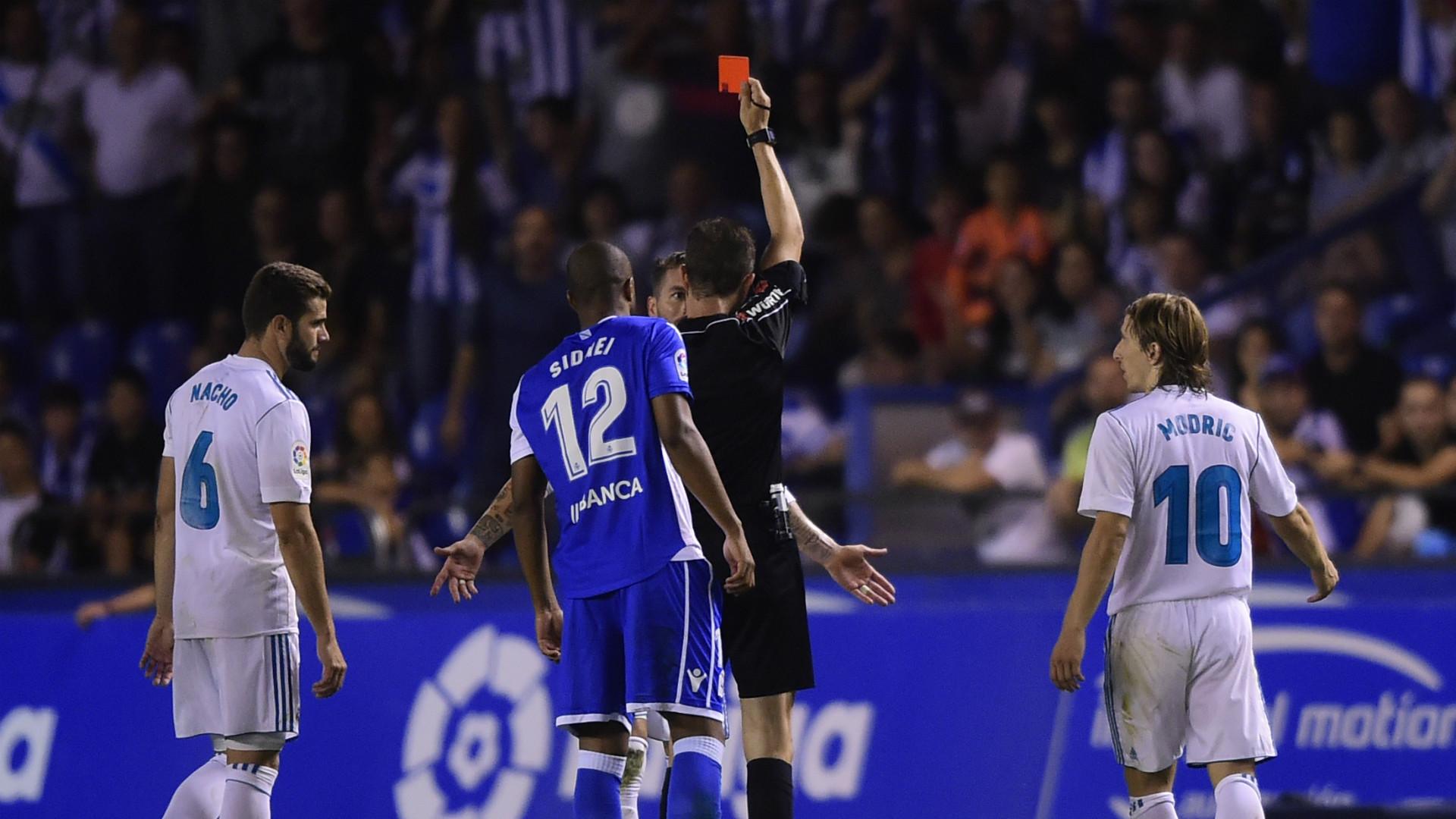 Sergio Ramos Red Card HD
