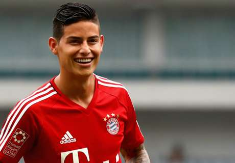 Bayern as big as Real Madrid - James