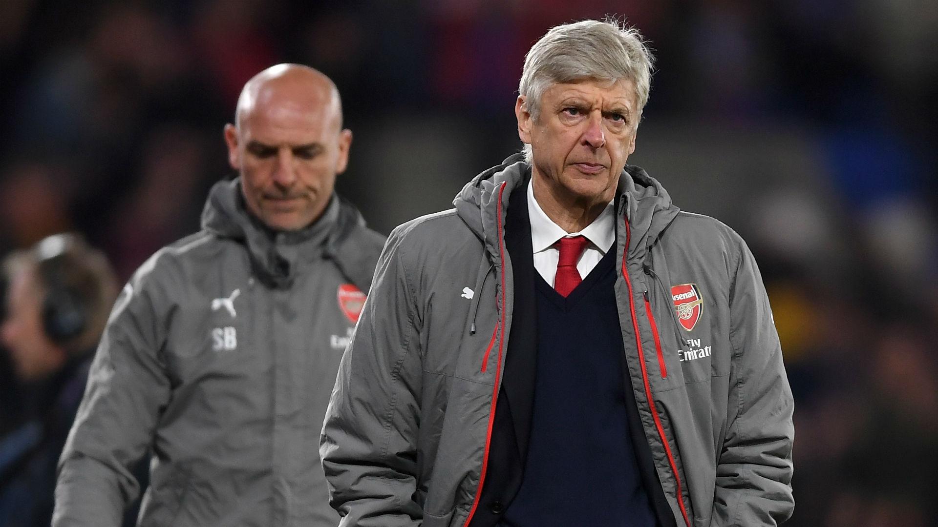 Arsene Wenger Arsenal Steve Bould