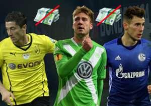 Der Deal ist durch: Leon Goretzka verlässt Schalke im Sommer ablösefrei und schließt sich den Bayern an. Doch das ist nicht erste der Star, den sich ein Bundesligist ohne etwas zu zahlen geschnappt hat. Hier kommen die namhaftesten ablösefreien Transfe...
