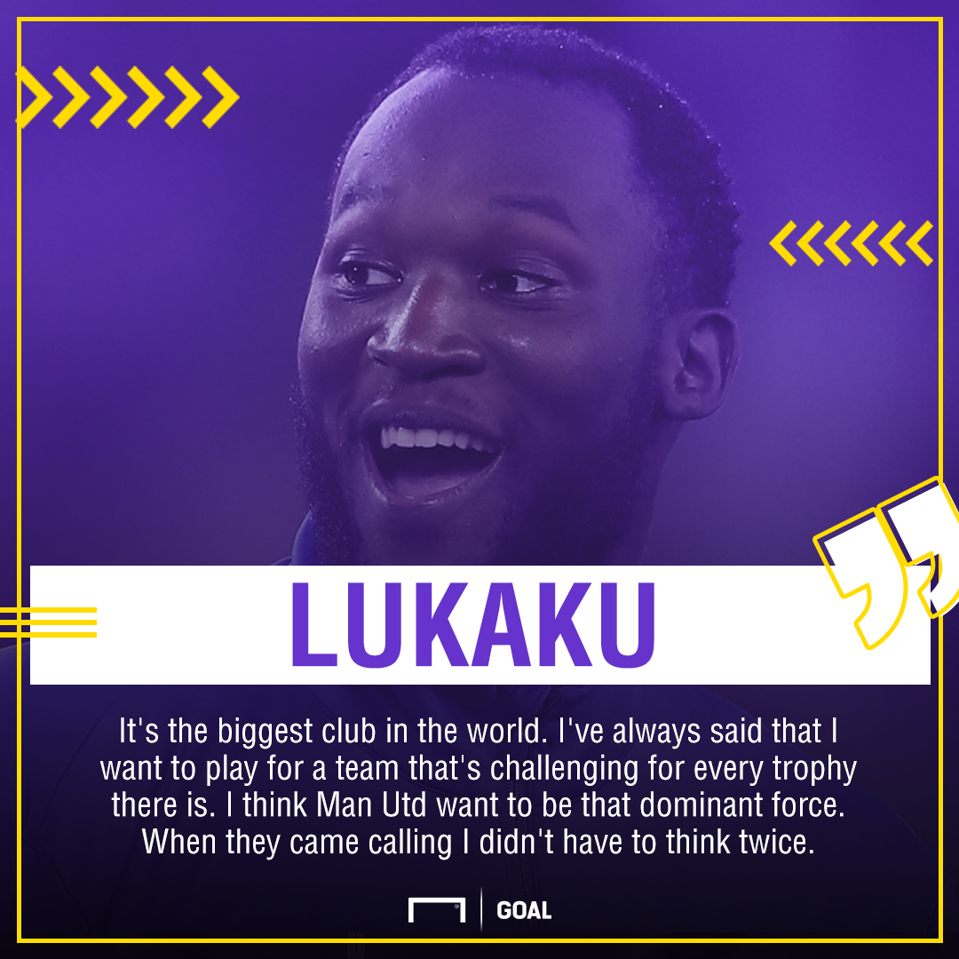 Lukaku on Man Utd move
