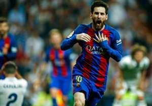 El futbolista argentino del Barcelona firmó anoche en el Bernabéu una de sus mejores actuaciones. En Goal hemos decidido repasar sus mejores partidos.