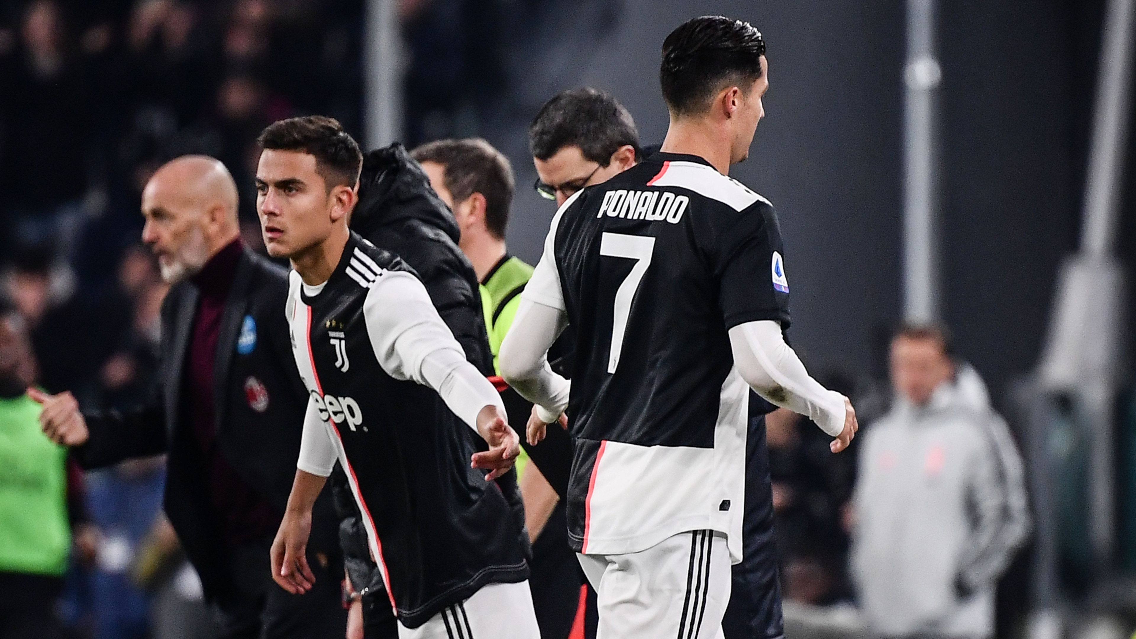 Ronaldo storms down Juventus tunnel after being substituted for second time in a week