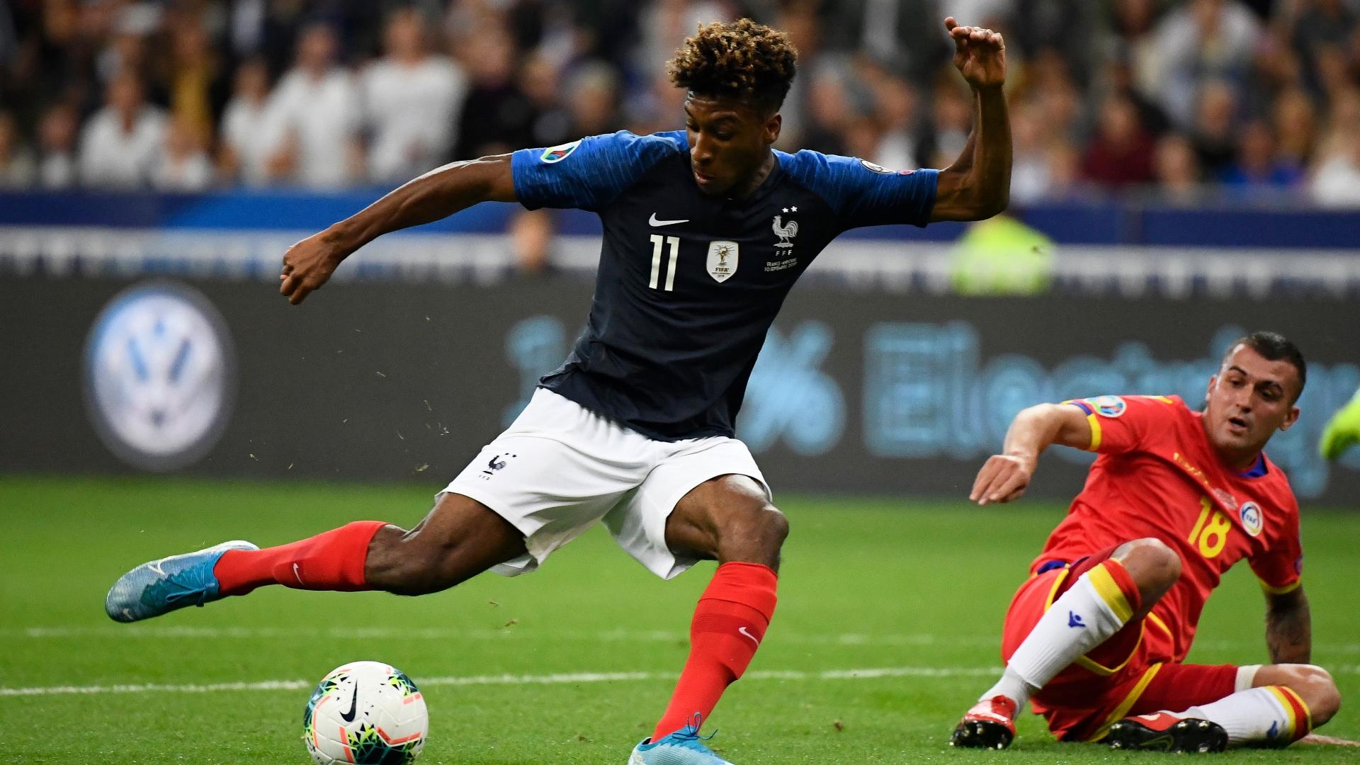 """France-Andorre (3-0) : Coman et Ikoné, des """"Titis"""" au rendez-vous"""