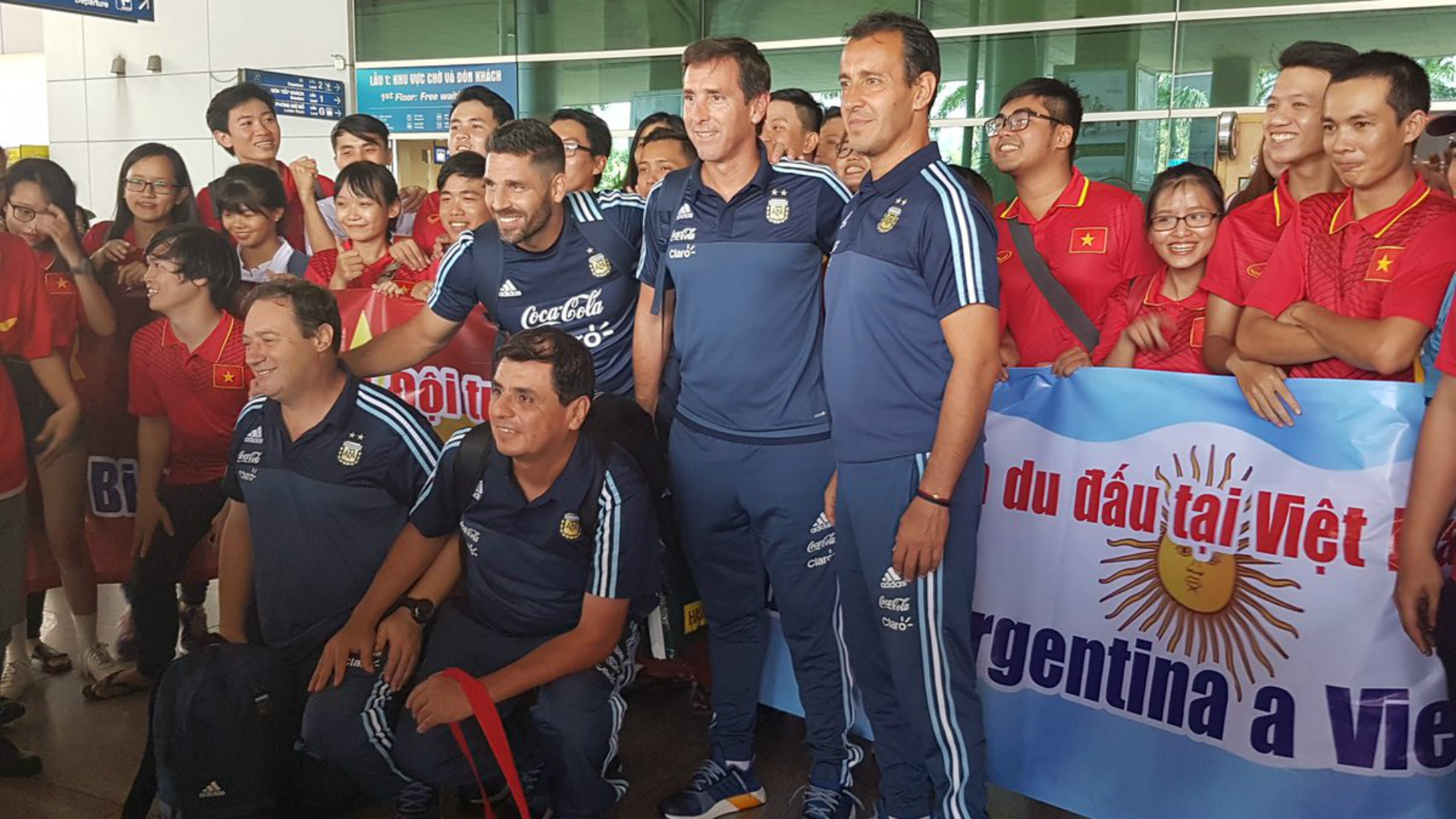 La Selección Sub 20 llegó a Vietnam, tras 28 horas de viaje