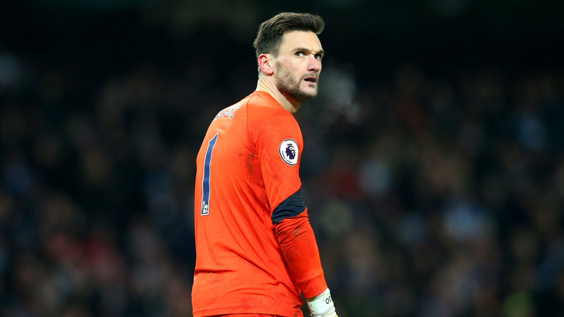 Hugo Lloris Premier League Manchester City v Tottenham 210117