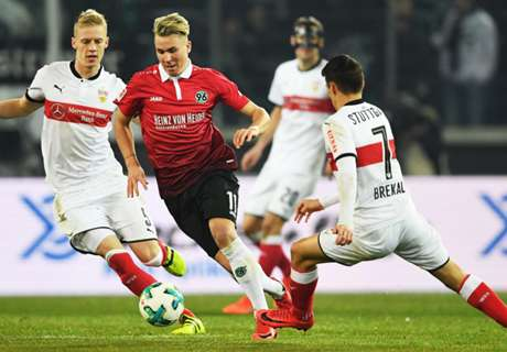 Bundesliga: Stuttgart entführt Punkt bei Hannover 96