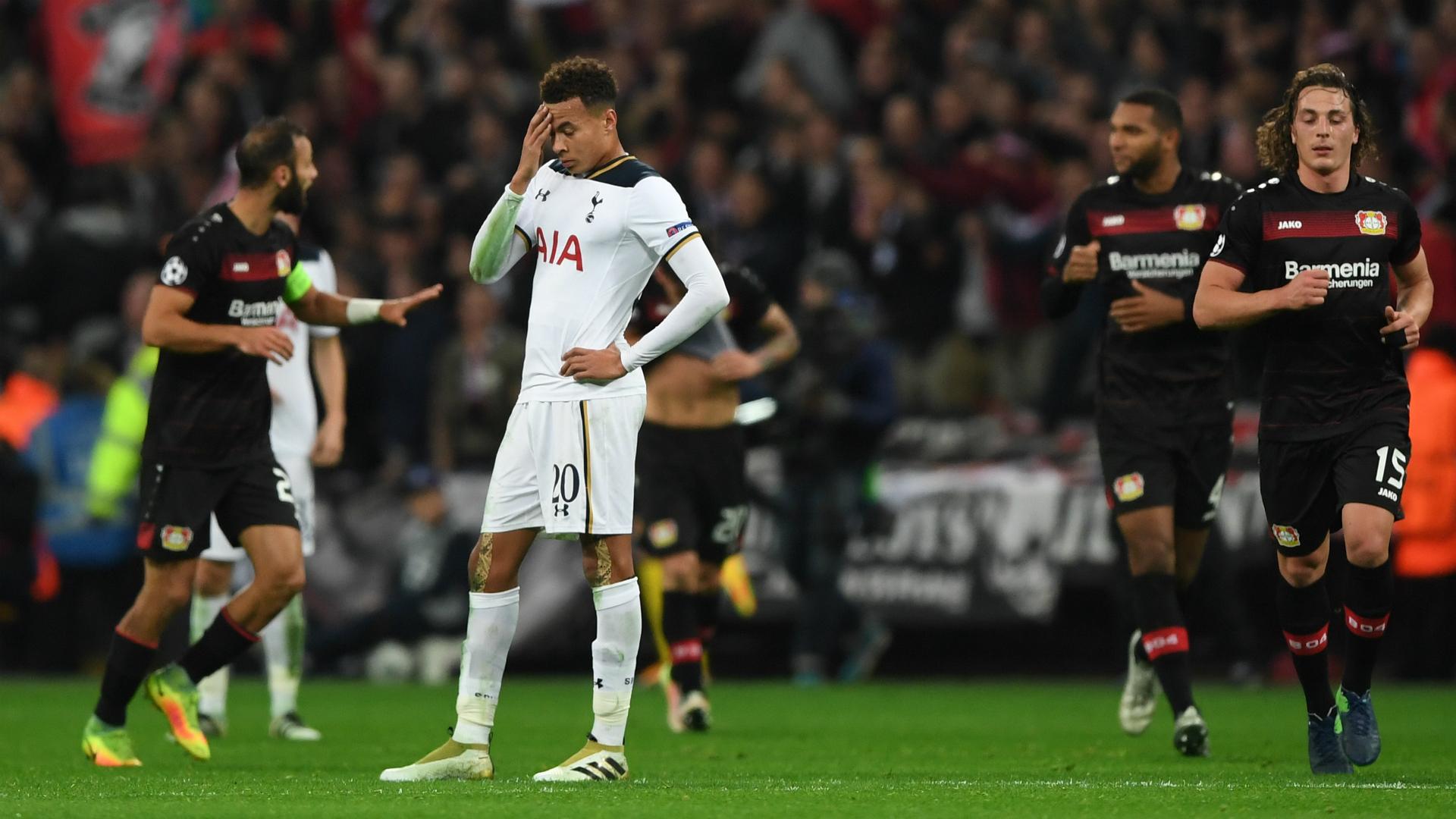 Tottenham Hotspur Bayer Leverkusen Wembley UCL 021116