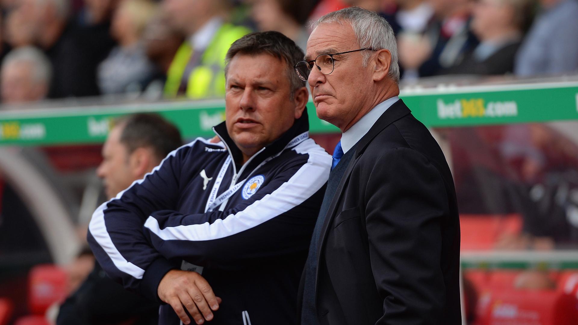Craig Shakespeare Claudio Ranieri Leicester