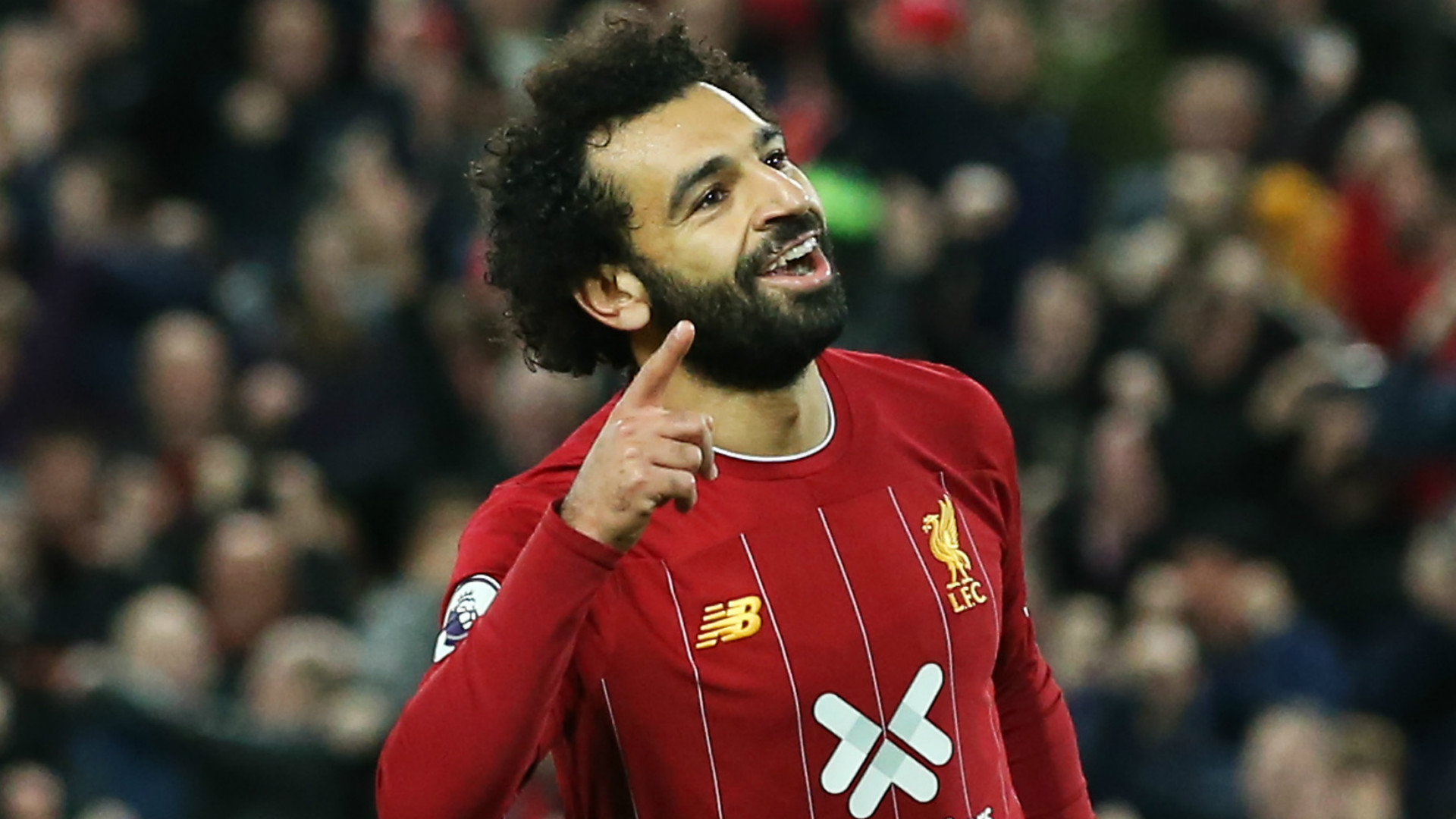 Liverpool's Salah continues fine run at Anfield with Manchester City goal