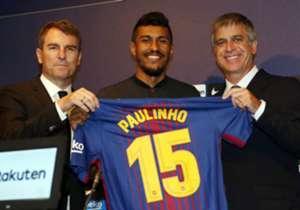 =62. PAULINHO | Dal Guangzhou Evergrande al Barcellona | 2017 | €40m