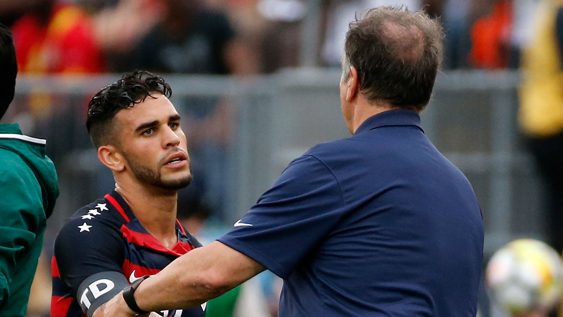 Dom Dwyer Bruce Arena USA Gold Cup