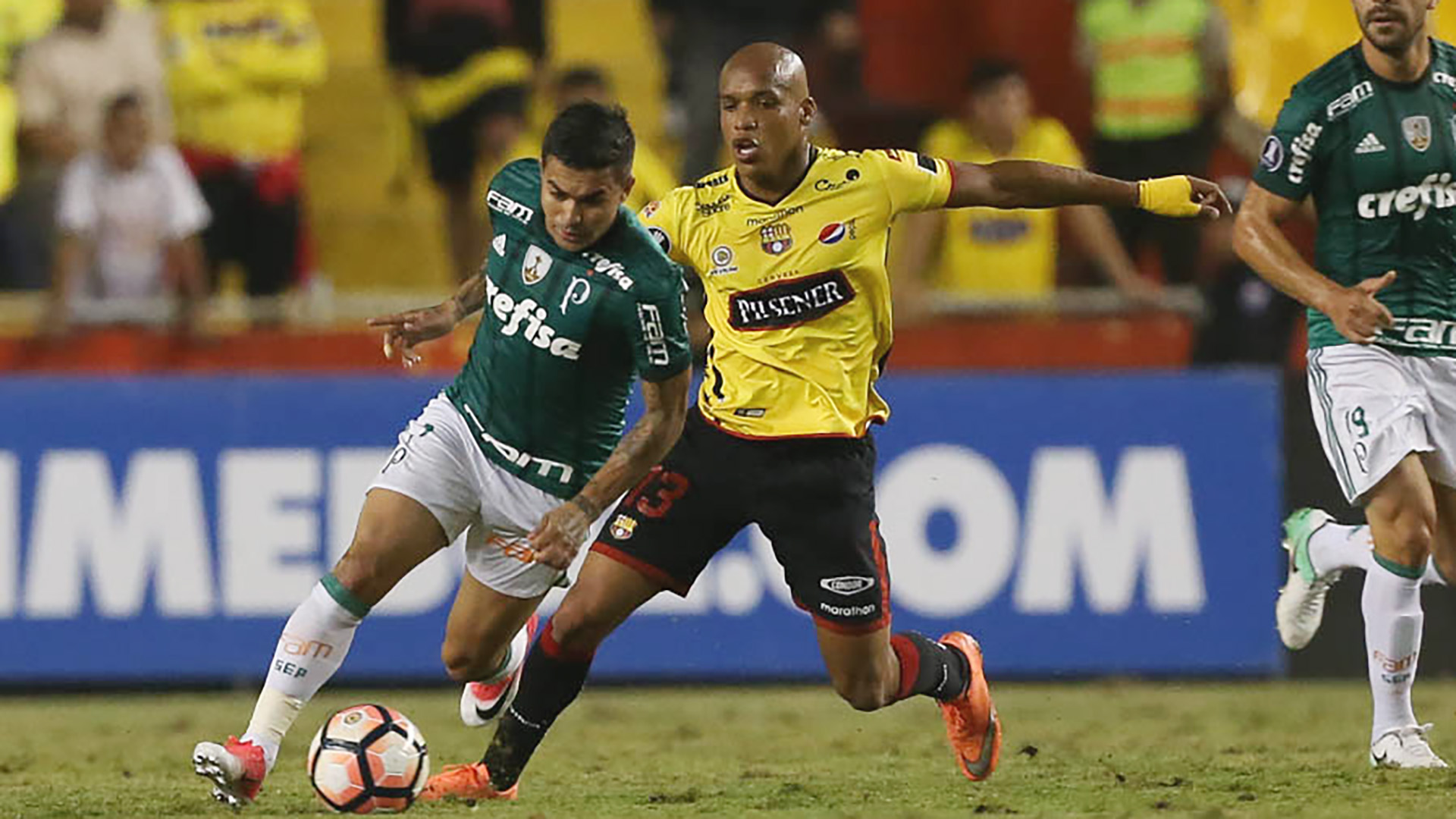 Dudu Barcelona Guayaquil Palmeiras Libertadores 05072017