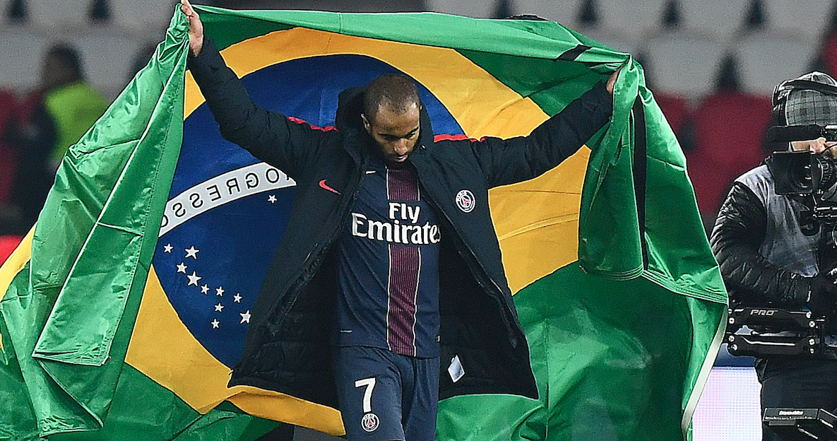 Lucas Rodrigues Moura da Silva PSG and Brazil