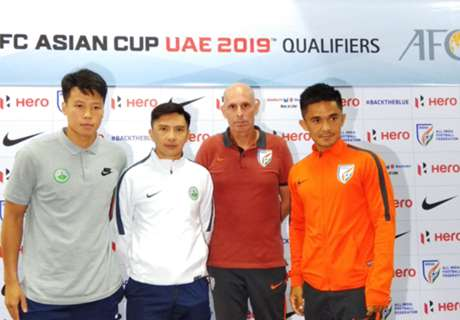 2019 Asian Cup qualifier: India v Macau preview