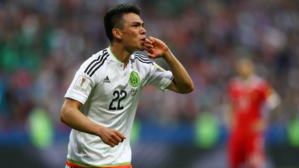Hirving Lozano Mexico Confederations Cup
