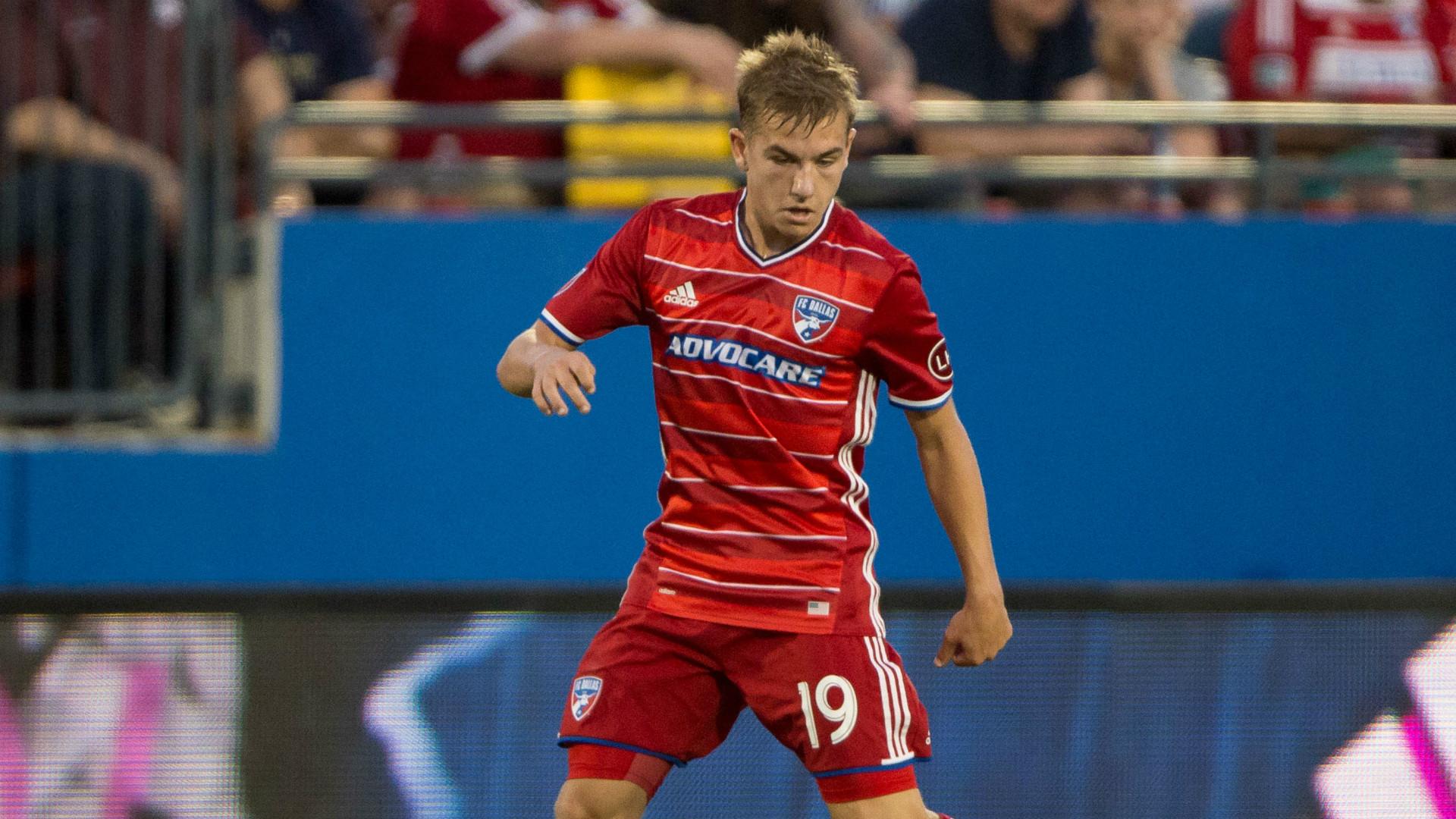 Paxton Pomykal MLS FC Dallas 04152017