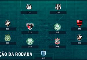 Dupla do Palmeiras e artilheiros de Santos e Ponte Preta. Veja quem são os destaques da 16ª rodada do Campeonato Brasileiro