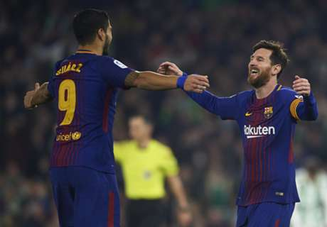 Messi és Suarez góljaival kitömte katalán ellenfelét a Barcelona