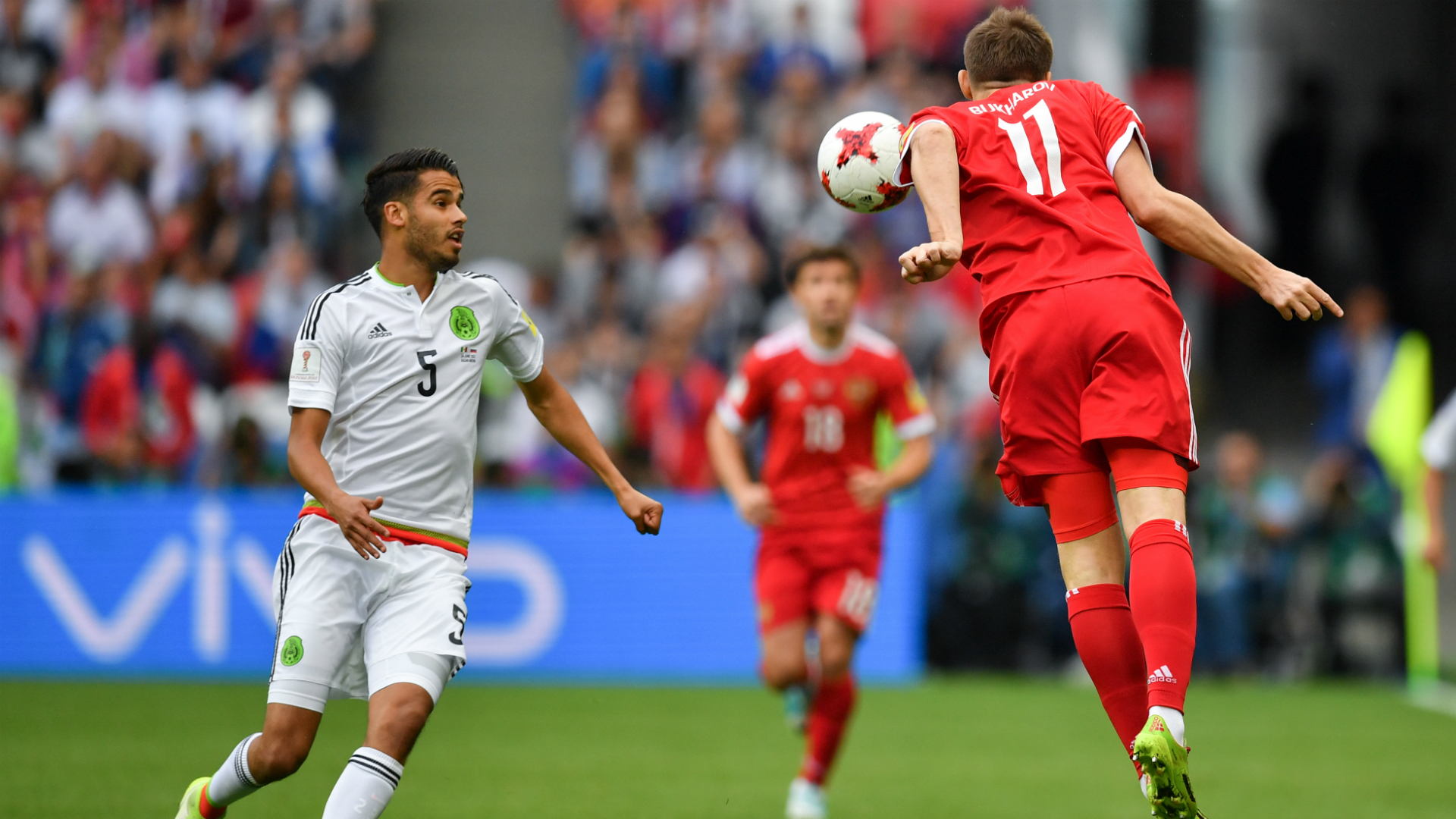 México avanza a semifinales a costa de Rusia — Confederaciones
