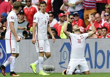 Polen vanaf de stip te sterk voor Zwitsers
