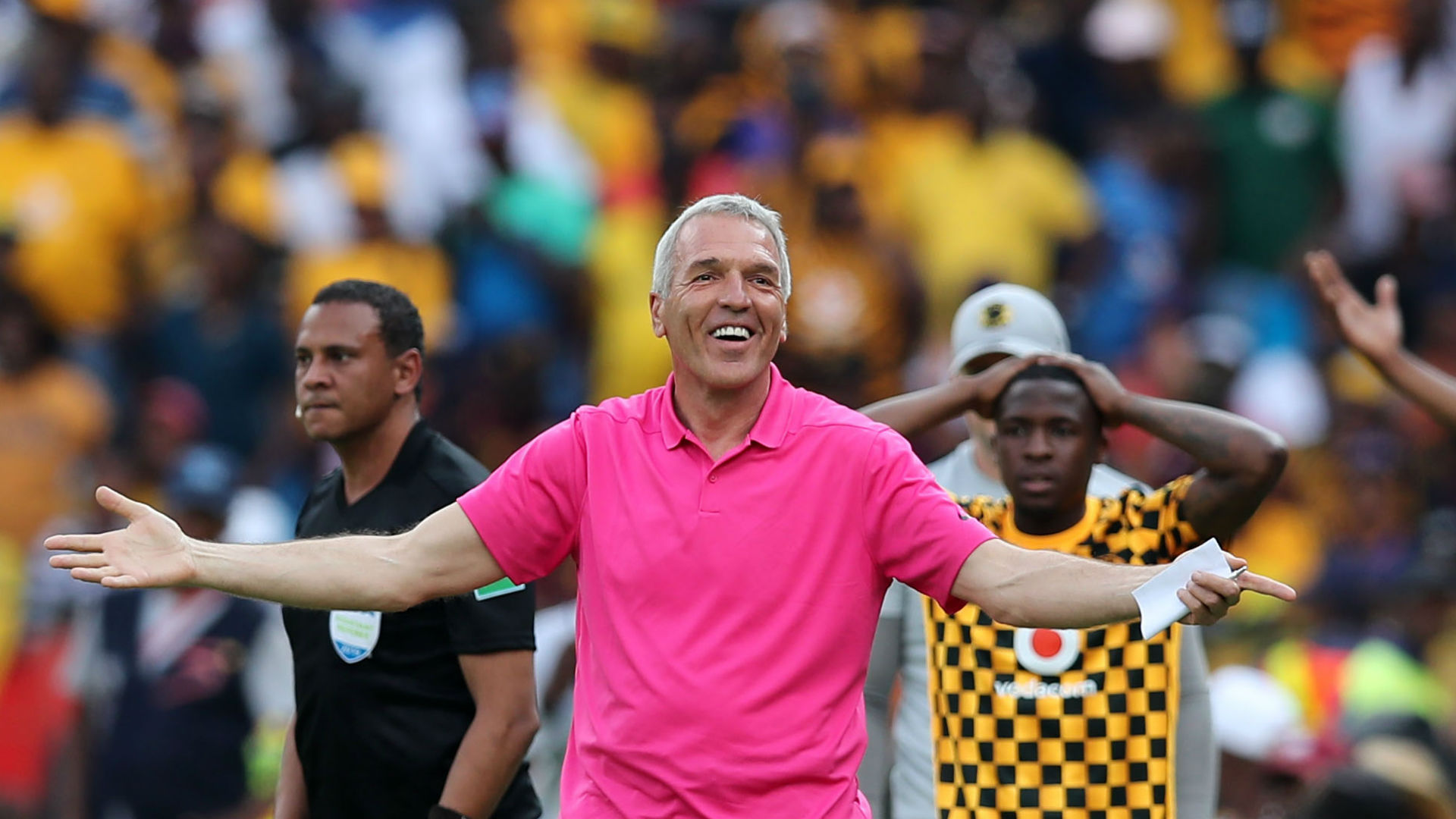 Kaizer Chiefs coach Middendorp will continue to scout opponents