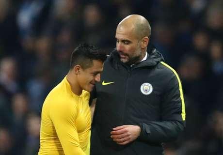 Guardiola solicitó el fichaje de Alexis