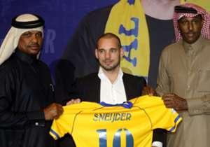 WESLEY SNEIJDER - Ex Inter, oggi all'AL-GHARAFA (Qatar)