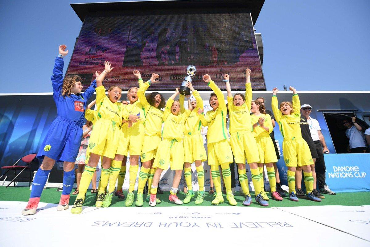 Danone Nations Cup : Nantes et Bordeaux représenteront la France