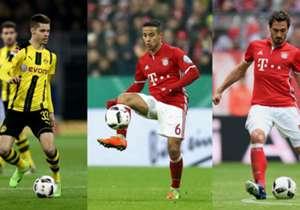 Wer spielt die meisten Pässe in Deutschlands Beletage? Goal hat die Top-10, die Bayern, Dortmund und Hoffenheim dominieren. (Daten von Opta)