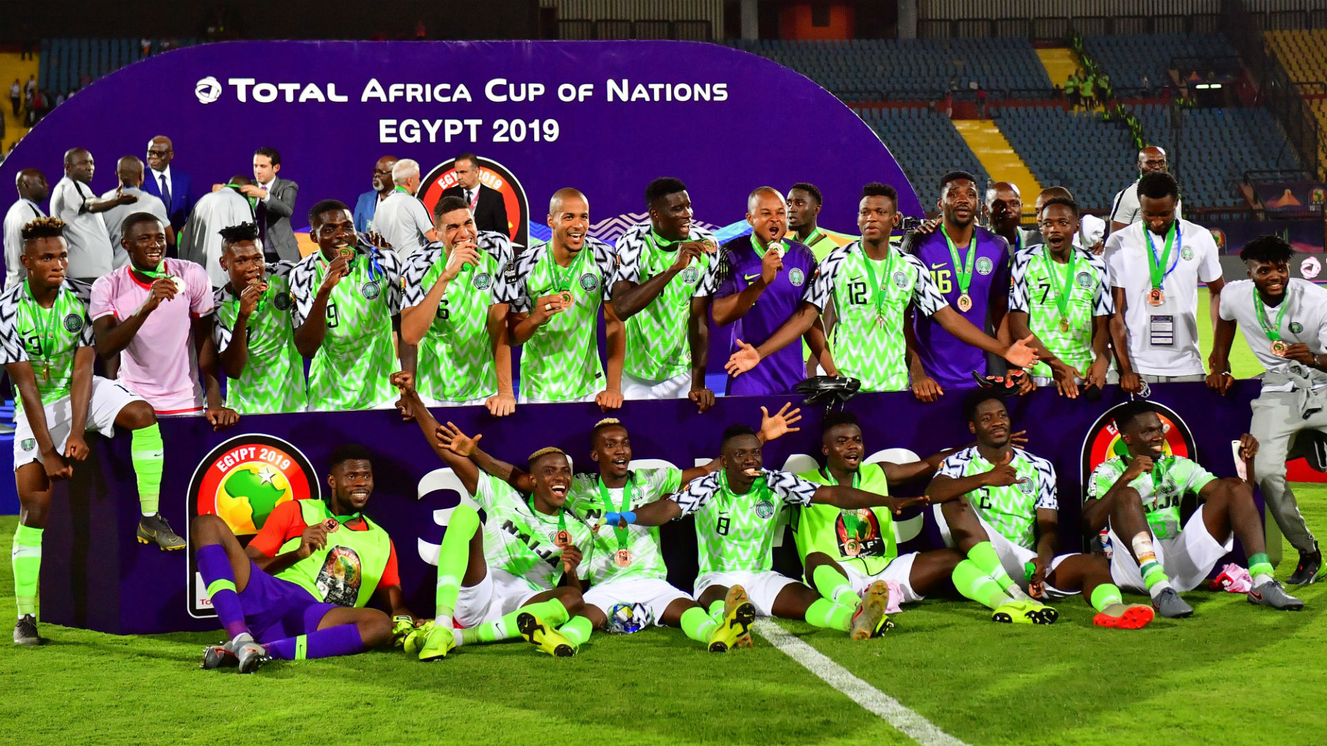 EXTRA TIME: Watch Super Eagles arrive back in Nigeria after Afcon 2019