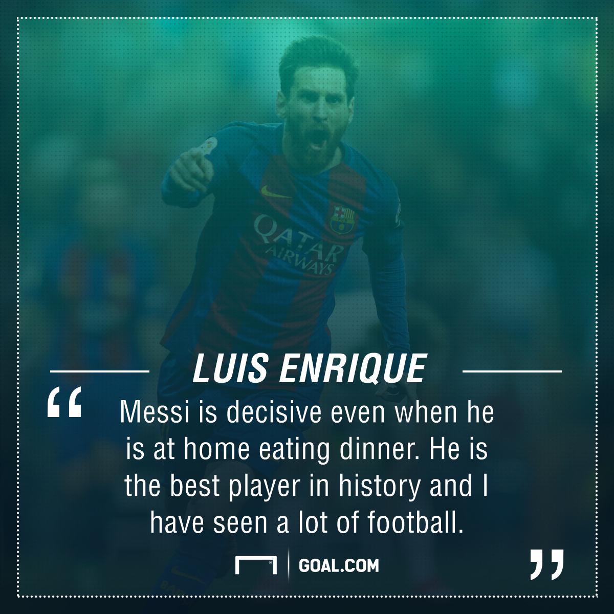 Luis Enrique Lionel Messi Barcelona