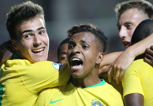 Real Madrid's €45m wonderkid Rodrygo single-handedly saving Brazil at South American U-20 Championship
