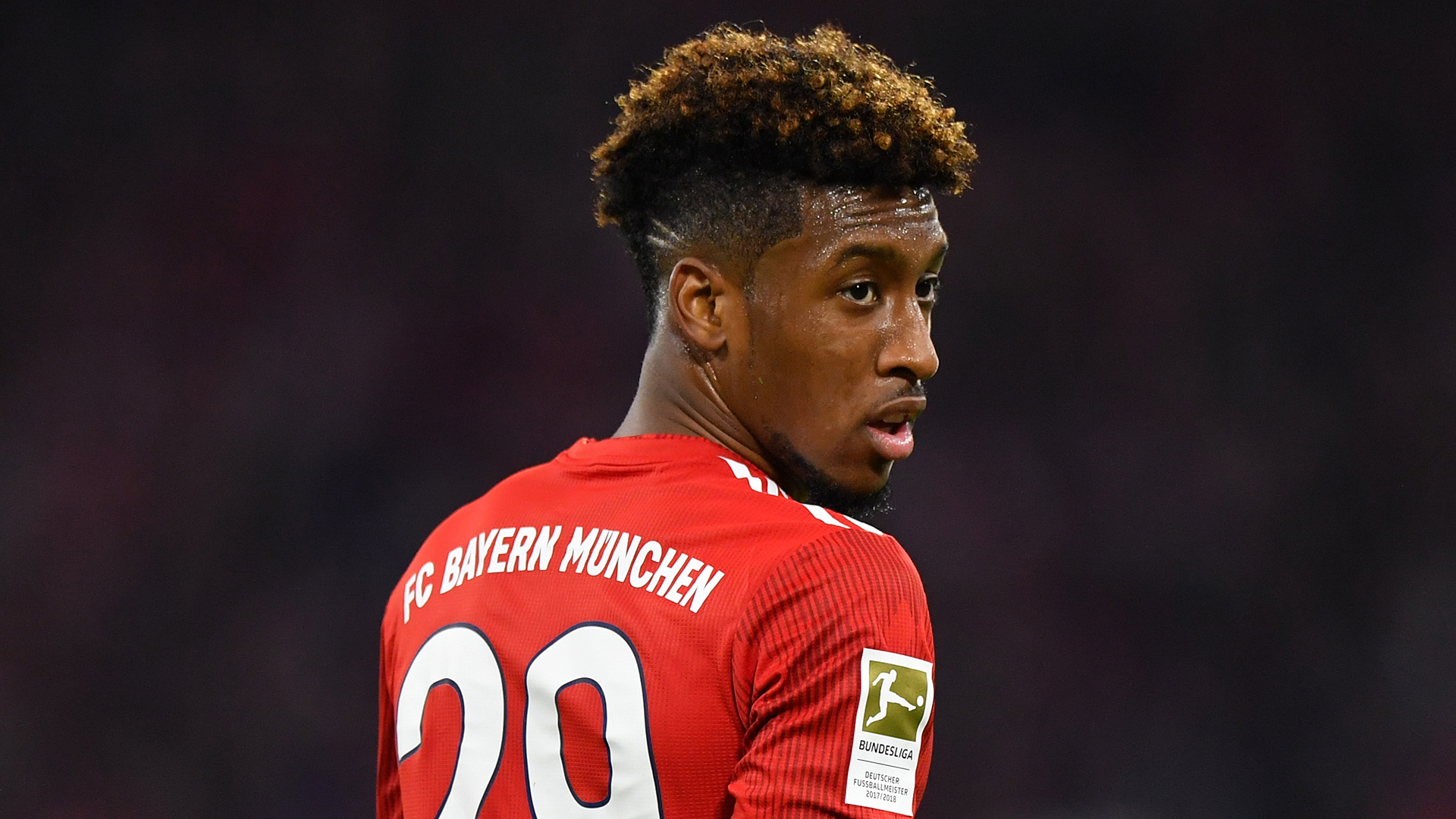 Coman: I'm never going to be a killer in front of goal