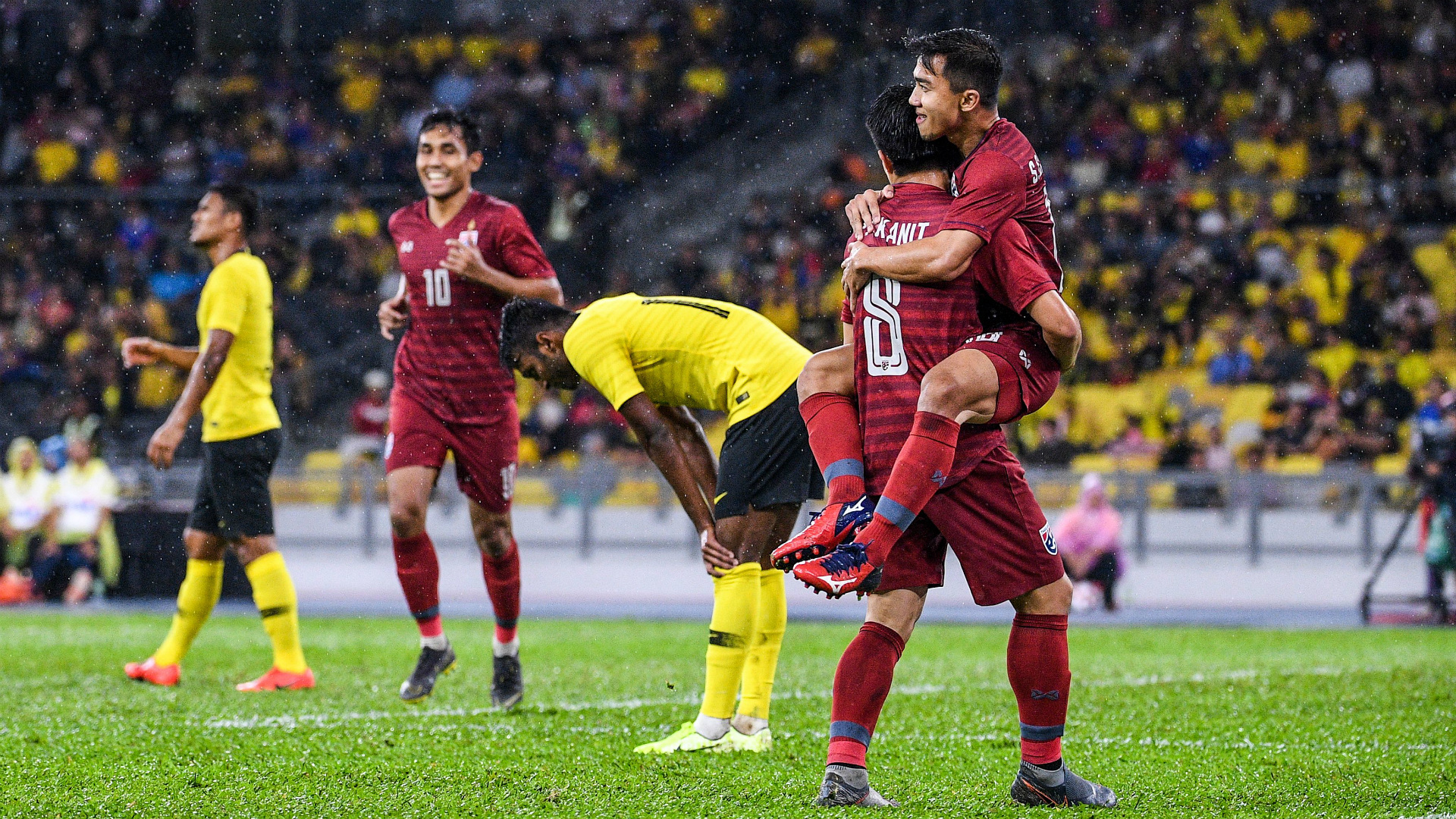 WC Qualifier: Malaysia 2 Thailand 1 - Sumareh fires Tigers back into contention