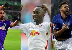 Die Bundesligisten gaben vor der Saison oder in der Winterpause einiges an Geld für neue Spieler aus. Goal zeigt die Top-Transfers der Saison.