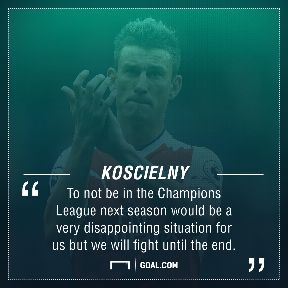 Koscielny will require daily treatment on an Achilles injury