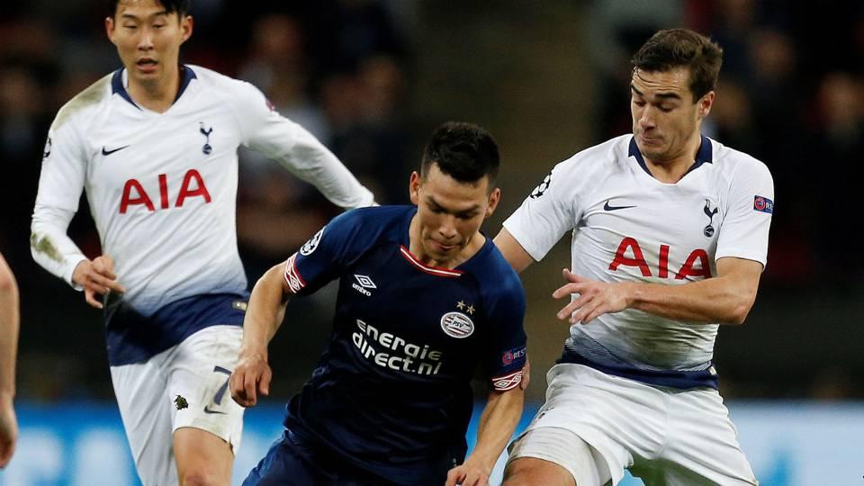 Hirving Lozano PSV Tottenham