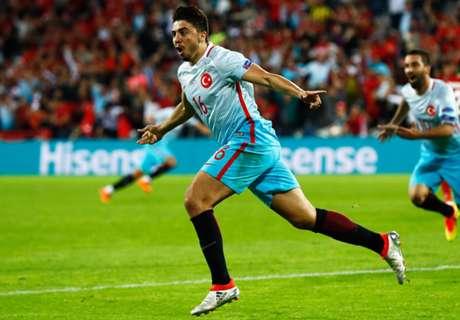 Euro 2016: República Checa 0-2 Turquía