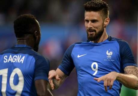 Francia-Scozia 3-0: Doppietta Giroud