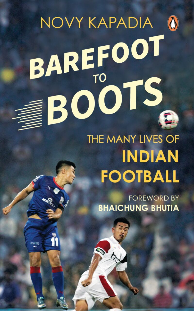 Barefoot to Boots Novy Kapadia Book cover