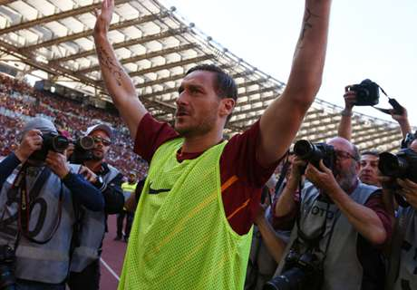Totti finishes among Serie A legends
